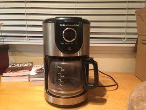 KitchenAid 12 cup coffee maker for Sale in West Jordan, UT
