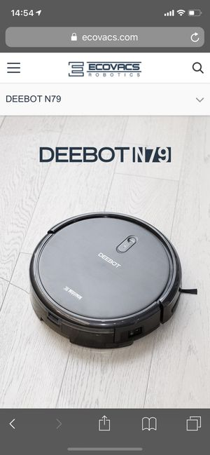 ECOVACS DEEBOT N79 Robotic Vacuum Cleaner for Sale in Boston, MA