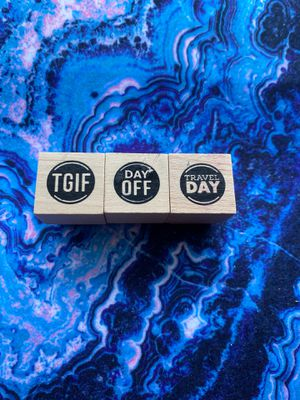 Planner rubber stamps for Sale in Bowie, MD