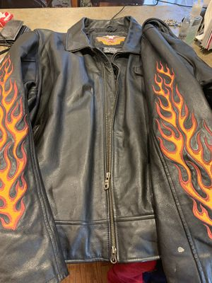 Size 3XL Motorcycle Jacket Like New Was 350.00 Dollars for Sale in Dracut, MA