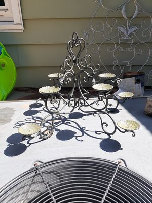 Beautiful candle holder centerpiece for Sale in Norfolk, VA