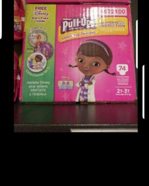 pull up huggies size 2 to 3t for Sale in Miami, FL