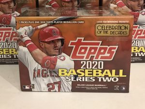 2020 Topps Series 2 Blaster Box - Factory Sealed for Sale in Los Angeles, CA
