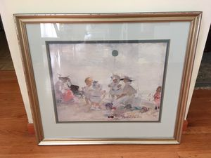 Martha Walters Beach Painting (Ethan Allen Reproduction) for Sale in Glenview, IL