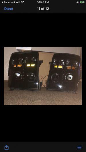 Chevy Silverado 2007 -2013 headlights smoked for Sale in Soledad, CA