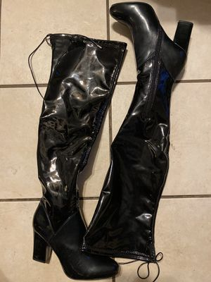Aldo Patent Leather boots for Sale in Bell Gardens, CA