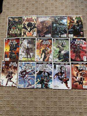 Marvel Black Panther Comics incl Variant cover for Sale in Hillside, NJ