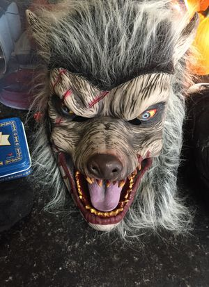 Gorilla mask and wolf mask for Sale in Norfolk, VA