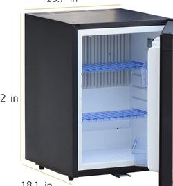 Smad Compact Mini Fridge Quiet No Noise Absorption Refrigerator with Lock 40L 1.4 cu.ft, Black for Sale in Henderson,  NV