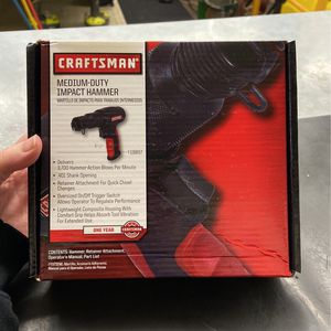Craftsman Medium Duty Impact Hammer 919897 for Sale in Phoenix, AZ