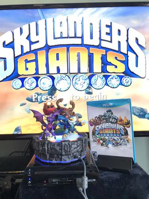 Nintendo Wii U Skylanders Giants complete video game for Sale in San Diego, CA