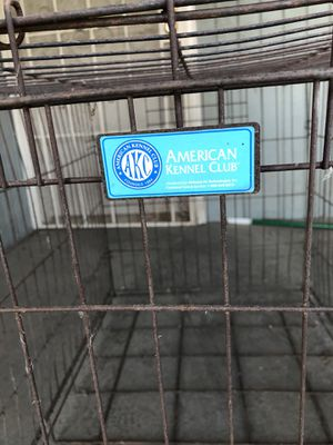 2 doge cages large and small, dog house for Sale in Selma, CA