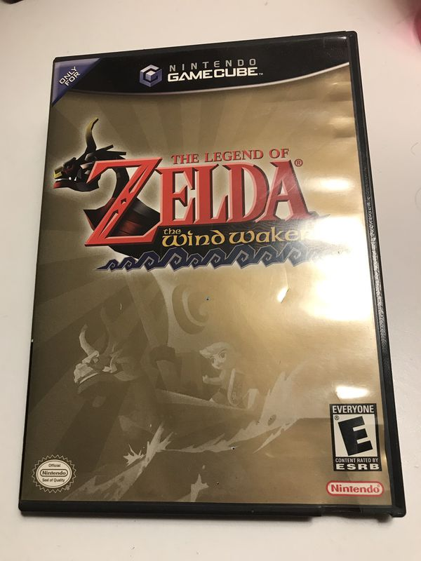Zelda Wind Walker Nintendo GameCube