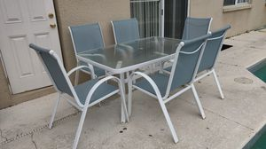 Outside Table with Chairs for Sale in Kissimmee, FL