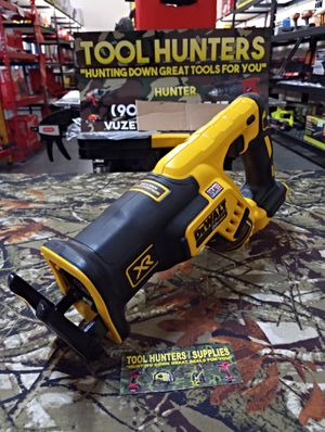 BRAND NEW DEWALT 20 VOLT MAX XR BRUSHLESS COMPACT POWERFUL RECIPROCATING SAW!! TOOL ONLY BRAND NEW !! for Sale in San Bernardino, CA
