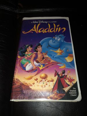 *RARE* Aladdin VHS Black Diamond Edition for Sale in Hayward, CA