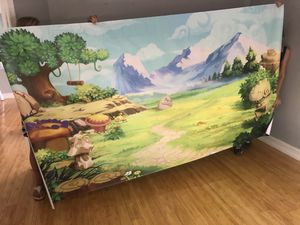Large vinyl backdrop - paid $200+ for Sale in Miami, FL
