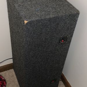 Two 10 Inch Subwoofer Box for Sale in Lynchburg, VA