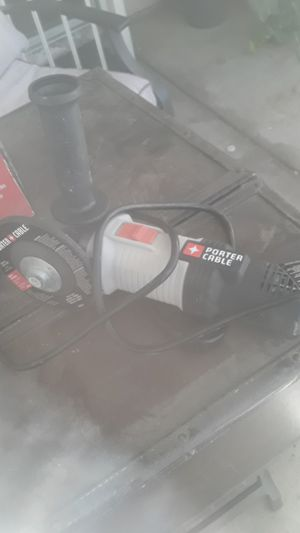 Porter cable 6 amp 41/2 angle grinder for Sale in Los Angeles, CA