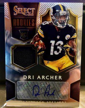 Dri Archer - 2014 Panini Select Rookie/Patch/Auto #94/99 for Sale in Monroe, LA