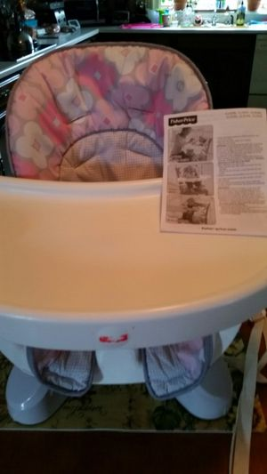 Fisher price high chair for Sale in Southbridge, MA
