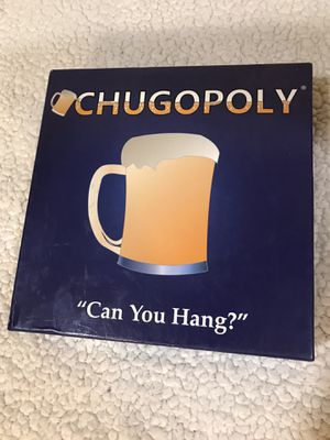 Chugopoly Drinking Board game for Sale in Dinuba, CA