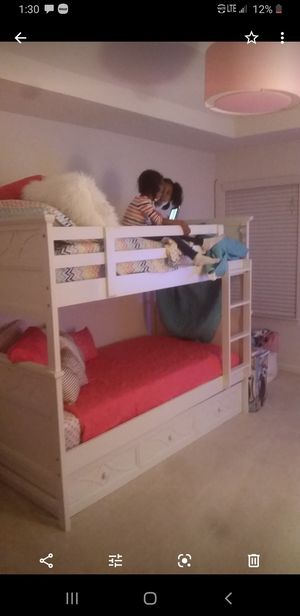 Twin bunk beds with both mattress for Sale in College Park, GA