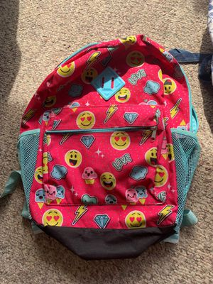 Emoji backpack barely used for Sale in Phoenix, AZ