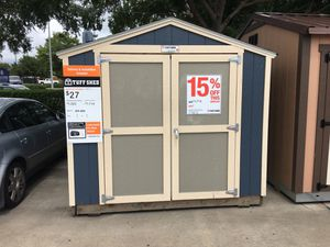 #0566 Tuff Shed 8x8 KR600 Display Shed for Sale in Bellaire, TX