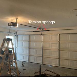 Torsion Garage Door Springs for Sale in Rosenberg, TX