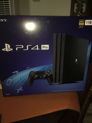 Playstation 4 PRO PS4 Pro 1 tb brand new sealed never been opened 350$$$ for Sale in Chula Vista, CA