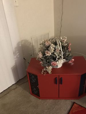 Wood Storage Bin/TV Stand for Sale in Germantown, MD
