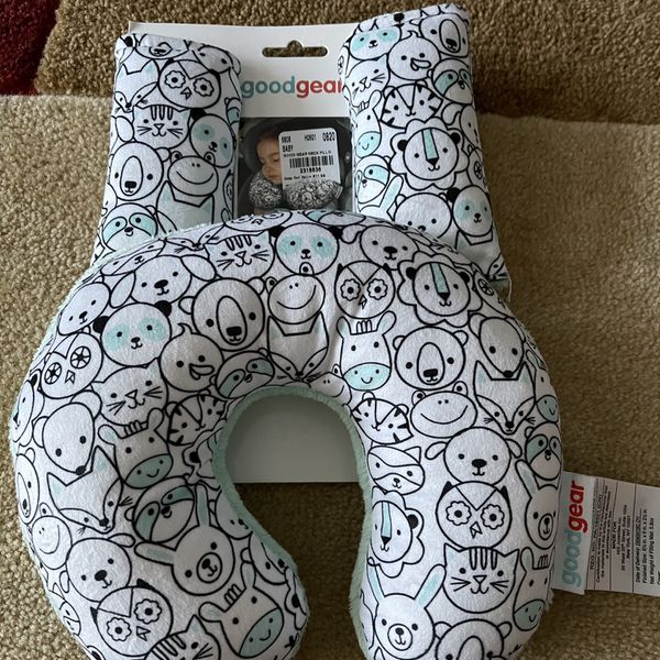Neck Pillow & Strap Cover Set