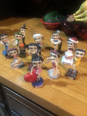 Betty boop calendar 📆 figures for Sale in Brooklyn, NY