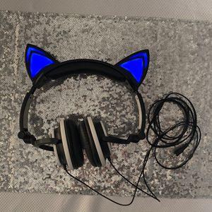 Kitty Ear Headphones LED Lights for Sale in Suisun City, CA