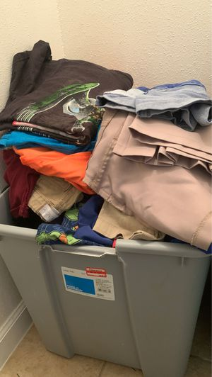 Box full of kids clothes ages 1,3,6,9 for Sale in San Antonio, TX