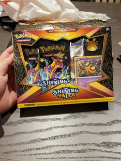 Pokemon Shining Fates Mad Party Pin Collection $50 OBO for Sale in San Jose,  CA