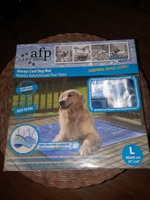 New All Paws - Always Cool Large Dog Mat for Sale in Pasadena, TX