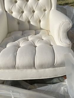 2 Tufted Wingback Chairs for Sale in Irvine,  CA