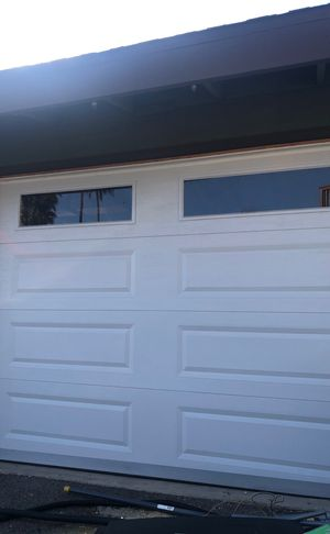 Like new 7ft tall 10' wide garage door for Sale in Escondido, CA