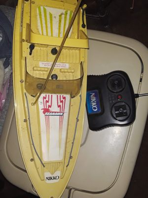 2 remote control boats for Sale in Fayetteville, GA