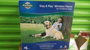 Petsafe stay &play wireless fence for Sale in Elizabeth, NJ