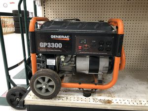 Generac 3300Watt Generator for Sale in Houston, TX