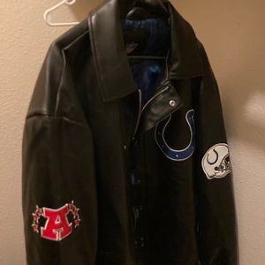 Colts Leather Jacket for Sale in Clovis, CA