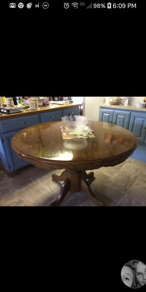 Solid wood kitchen table for Sale in Hensley, AR