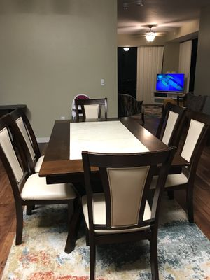 Top Dining Table and Chair Set for 6 Person for Sale in San Diego, CA