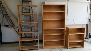 3 bookcases / bookshelves for Sale in Vista, CA