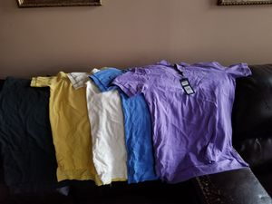 Polo 2 button shirts for Sale in Clarksburg, MD