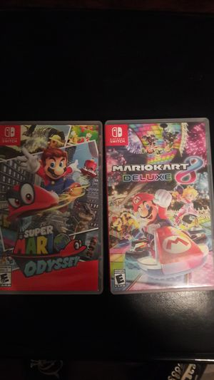 Mario games Nintendo Switch for Sale in Fontana, CA