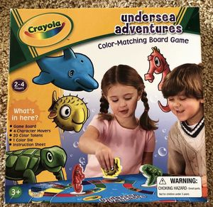 Crayola Undersea Adventures Color Matching Kids Game for Sale in Laguna Niguel, CA